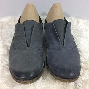 Naya Womens 9M Tilda Gray Leather Man Made Flats